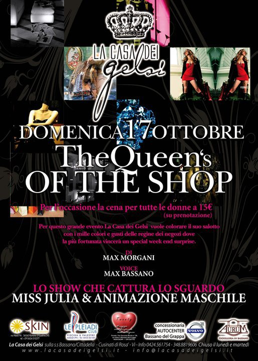 Serata Queen's of the shop!