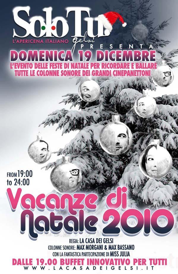 Domenica 19 Dicembre, Solo TU! L'apericena Italian