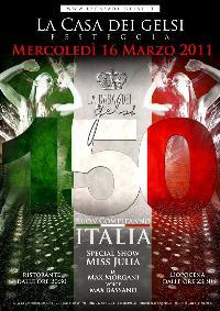 Anniversario 150 anni unità d'Italia