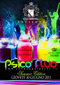 Psico Fluo Summer Edition a Bassano