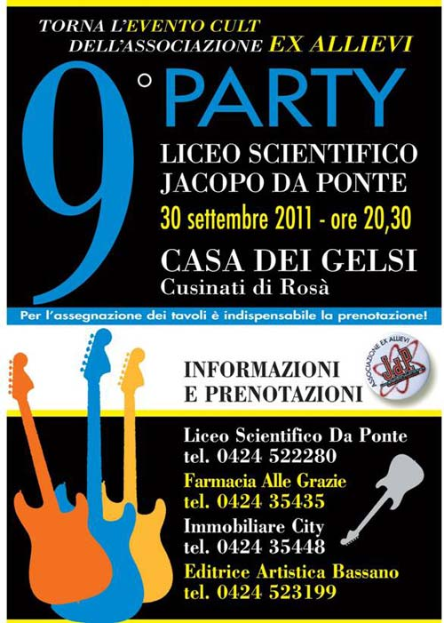 Party Liceo Jacopo da Ponte