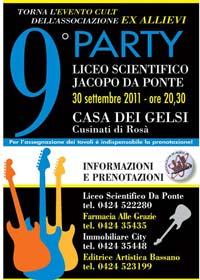 Party Liceo Jacopo da Ponte