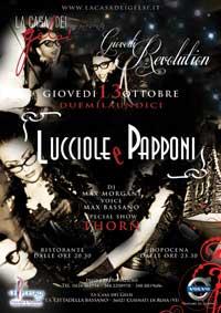 Festa a tema Lucciole e Papponi