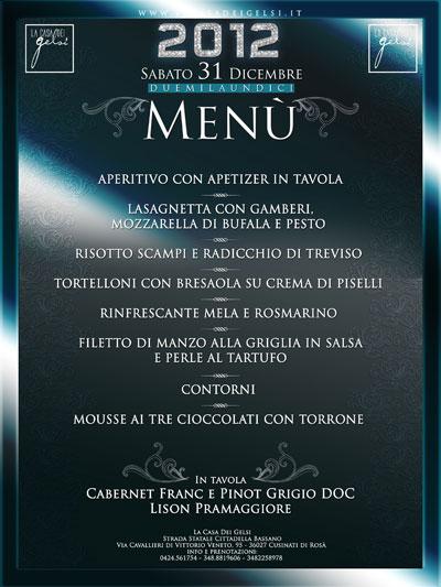 menu di capodanno