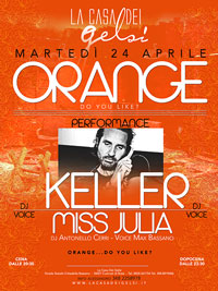 Serata a Tema Orange con Keller