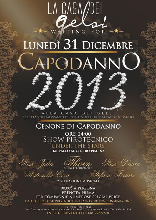 Festa di Capodanno 2013 - Ultimo dell'Anno 2012