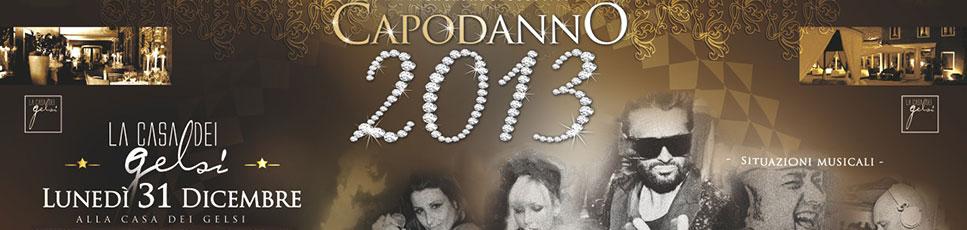 Capodanno 2013 Ultimo dell'Anno