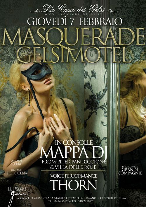 Masquerade Motel festa in maschera