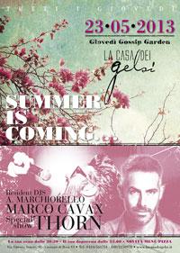 Apertura giardino estivo Gelsi