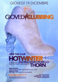 Giovedì Clubbing 19 dicembre 2013