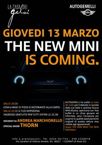 The new mini is coming