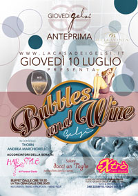 Serata Bubbles and Wine