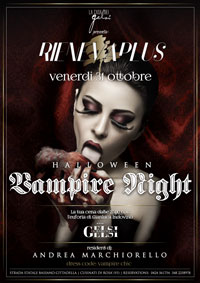 Halloween Vampire Night