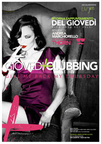 Giovedì Clubbing 11 novembre