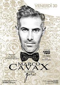 Venerdì Marco Cavax 30 gennaio