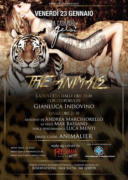 Venerdì The Animals 23 gennaio