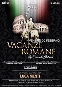 Serata a tema Vacanze Romane Bassano