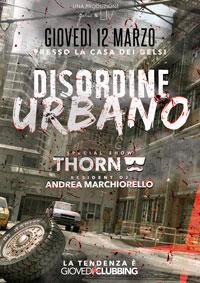 disordine urbano