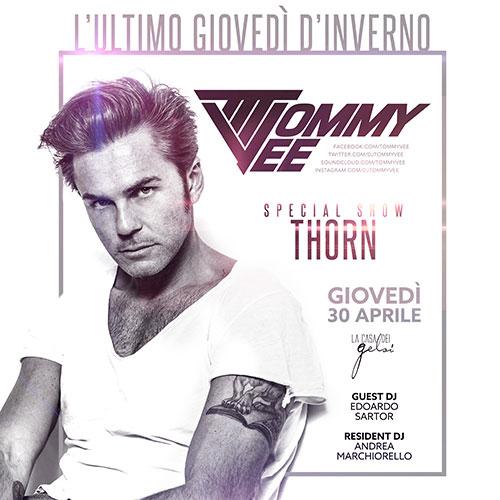 Tommy Vee - 30 aprile La Casa dei Gelsi 30 aprile