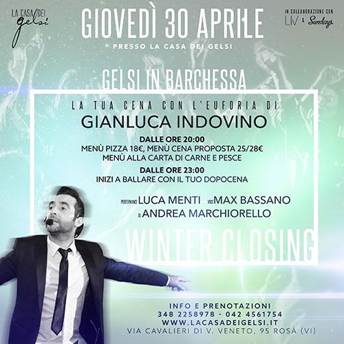 Winter Closing ai Gelsi Gianluca Indovino 30 april