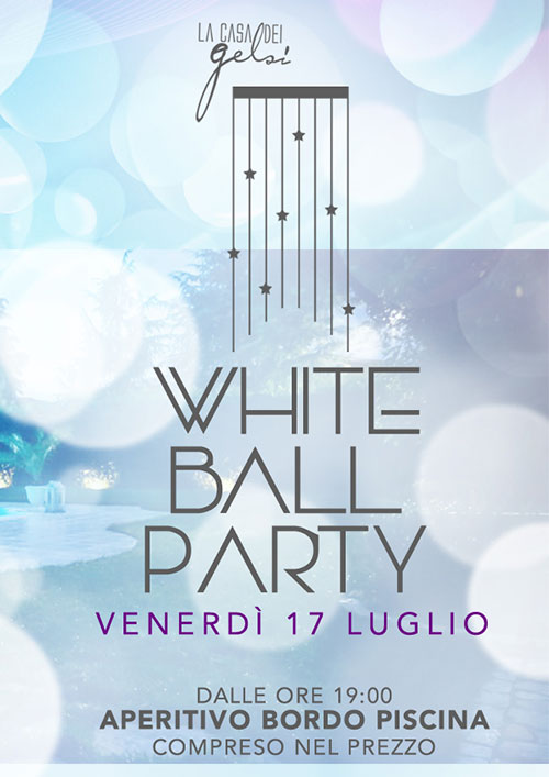 White Ball Party alla Casa dei Gelsi
