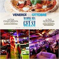 Gelsi Mamma Mia 30 ottobre 2015