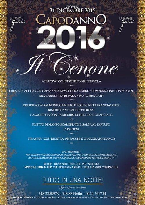 Capodanno 2016 31 dicembre 2015 cenone dell 39 ultimo dell 39 anno ai gelsi - Capodanno a casa ...