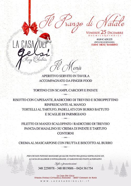 Menu Per Pranzo Di Natale Semplice.Pranzo Di Natale 2015 A Bassano Del Grappa Vicenza 25