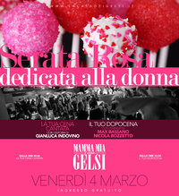 Serata rosa dedicata alle donne 4 marzo 2016 Gelsi