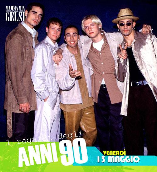 Backstreet boys anni 90 ai gelsi maggio 2016