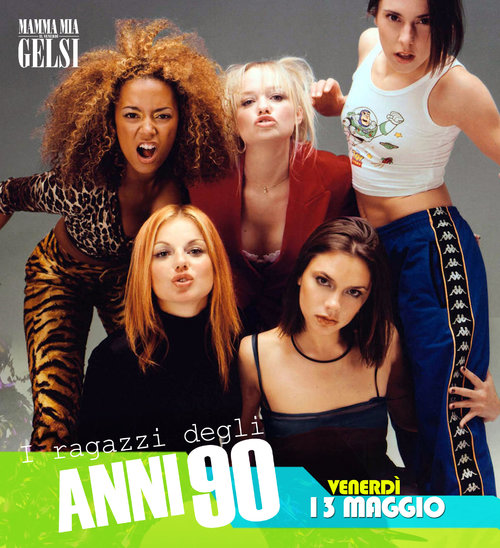 Spice girls festa anni 90 ai gelsi maggio 2016