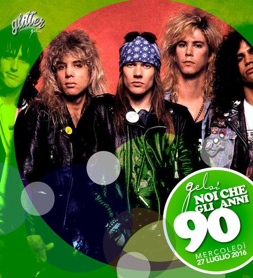 Guns and roses festa anni 90 ai gelsi