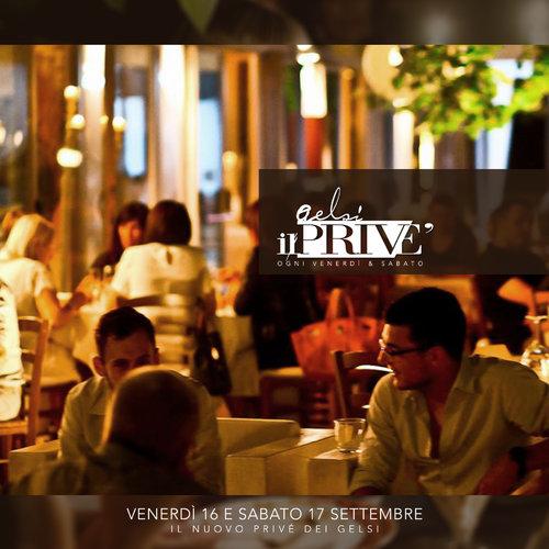 cena in prive ai gelsi 16 e 17 settembre 2016