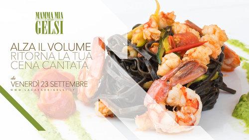 Mammamia cena cantata 23 settembre 2016