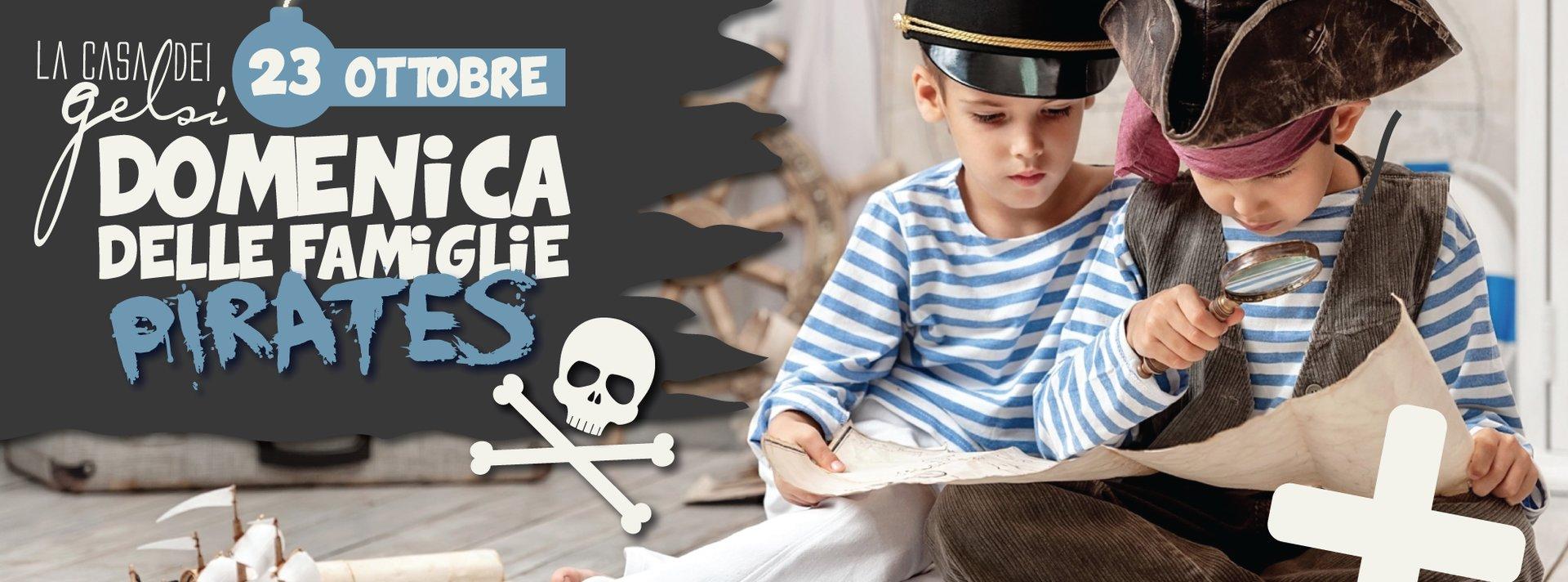 domenica delle famiglie pirati 23 ottobre 2016