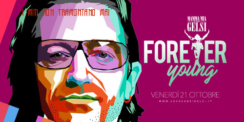 Forever young bono