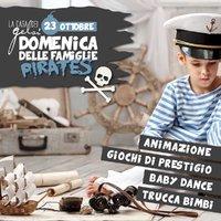 pirates domenica famiglie 23 ottobre 2016