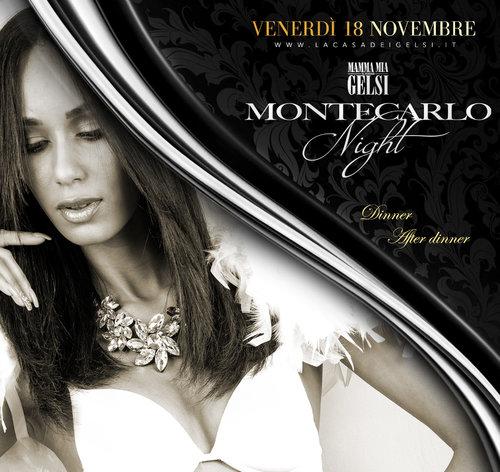 Montecarlo night cena e dopocena 18 novembre 2016