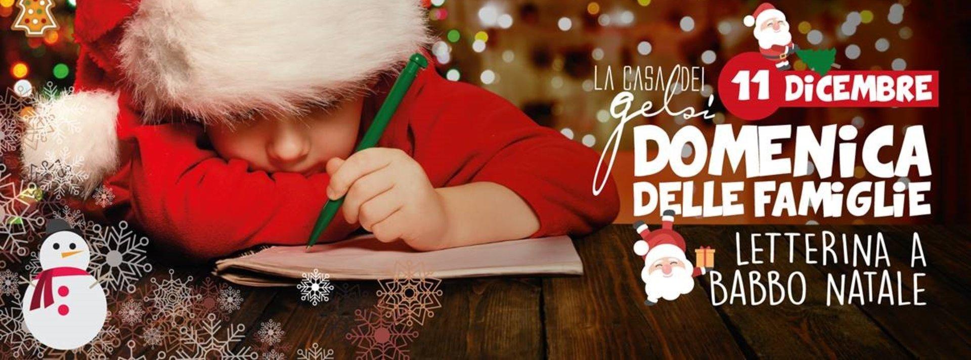 Domenica delle famiglie ai Gelsi - 11 dicembre 201