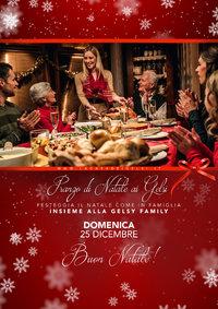 Pranzo di Natale 2016 alla Casa del Gelsi