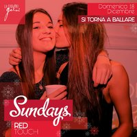 Sundays Red Touch alla Casa dei Gelsi