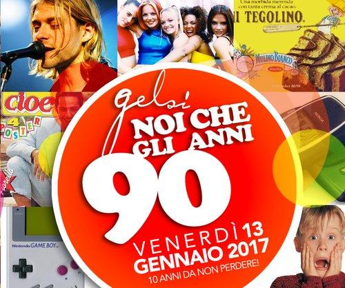 Ai Gelsi tornano gli anni 90 - 13 gennaio 2017