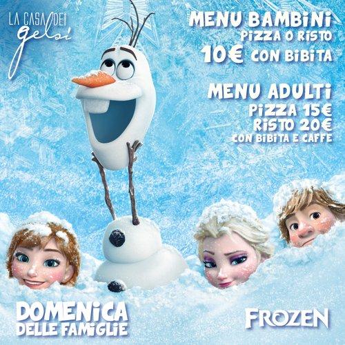 Domenica delle Famiglie - Frozen - 29 gennaio 2017