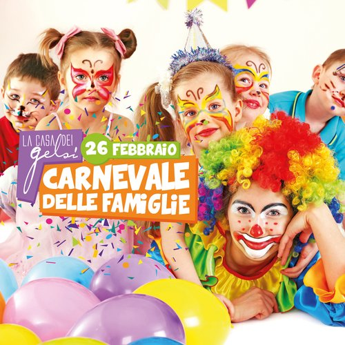 Carnevale delle famiglie - 26 febbraio 2017