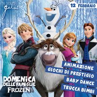 I personaggi di Frozen ai Gelsi - 12 febbraio 2017