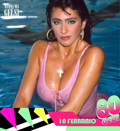 Sabrina salerno - Serata anni 80 ai Gelsi