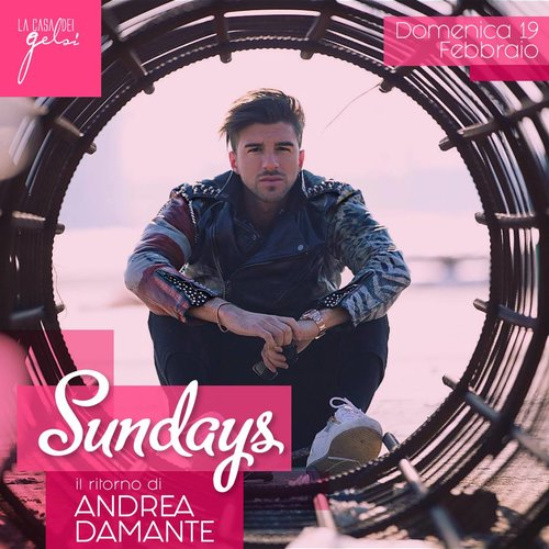 Sundays andrea damante 19 febbraio 2017