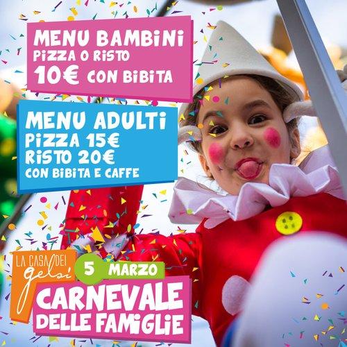 Carnevale delle famiglie Gelsi - 5 marzo 2017