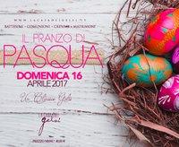 Pranzo di Pasqua alla Casa dei Gelsi - 16 aprile 2