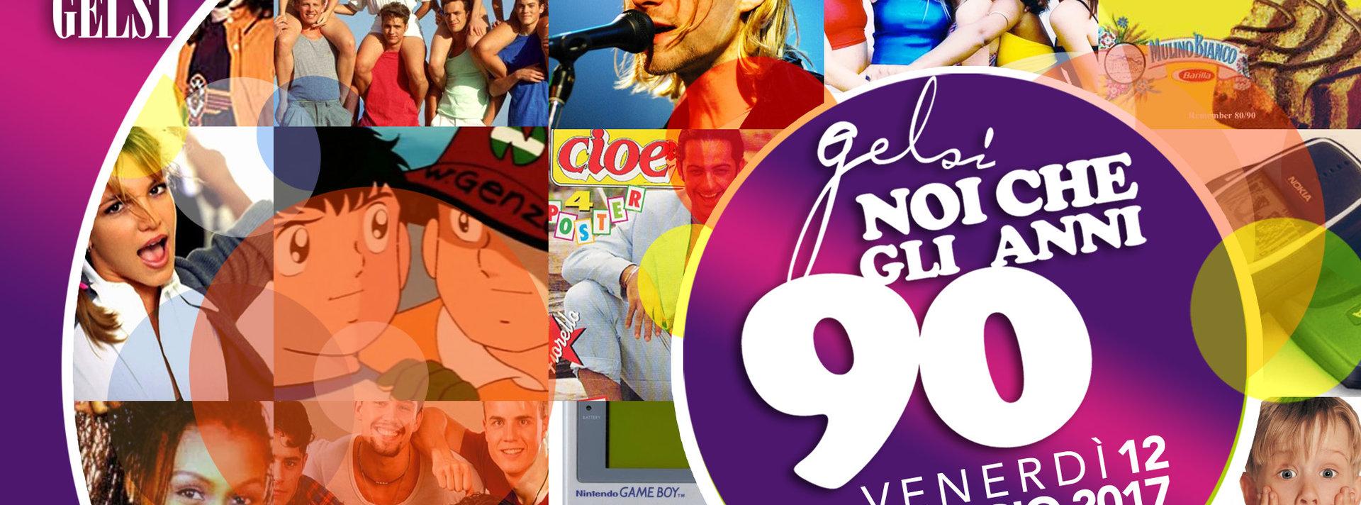 Festa anni 90 alla Casa dei Gelsi - 12 maggio 2017